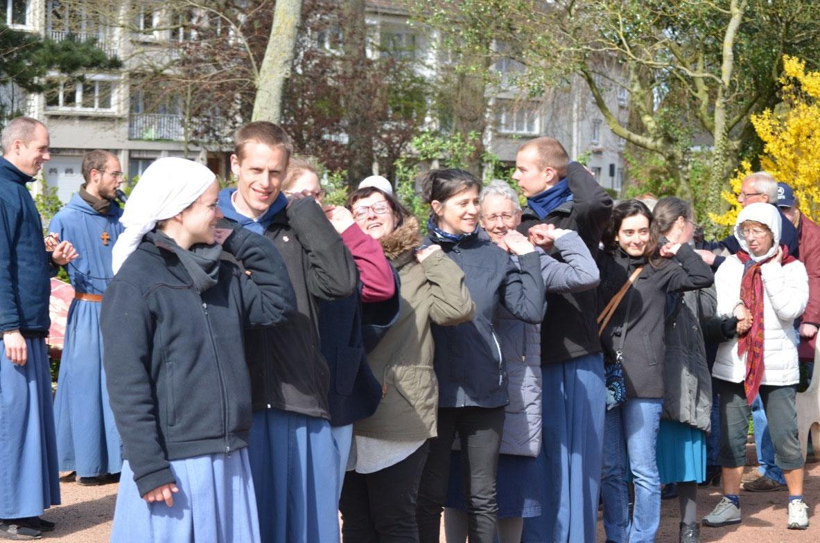 La semaine de mission avec les frères et sœurs de Tibériade.