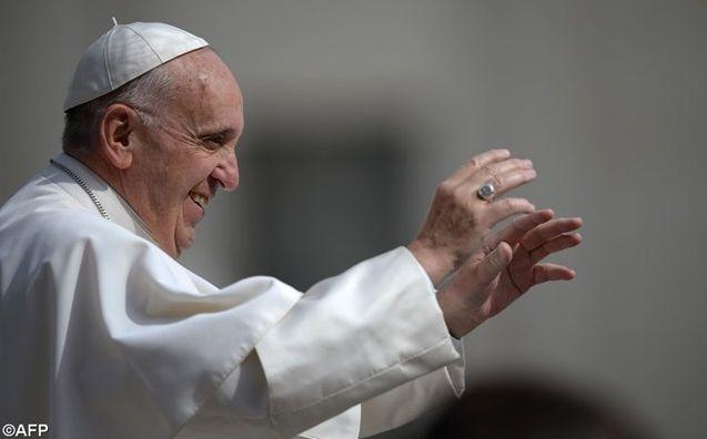 Le Pape François lors de l'audience du 25 mai 2016.