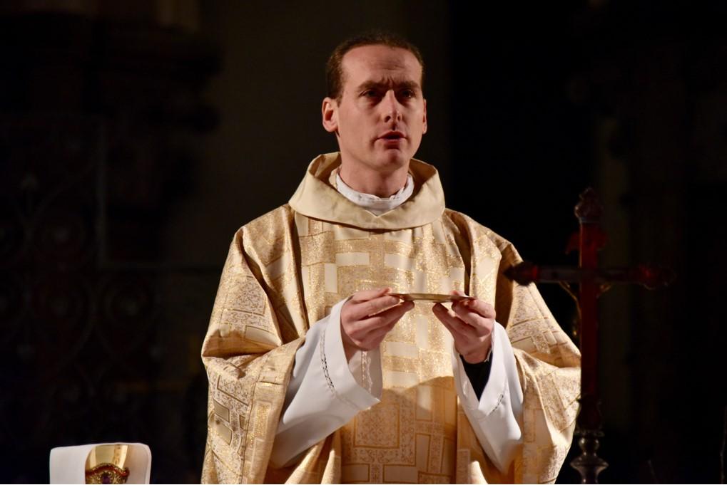 Père Pierre Poidevin - Messe de Noël - Eglise St Pierre - 24/12/2017