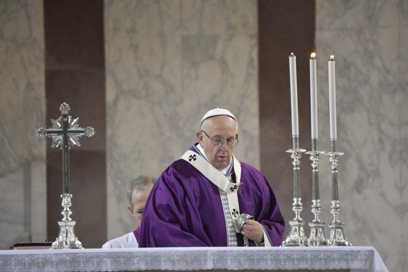 Messe des Cendres 2018, à Sainte-Sabine