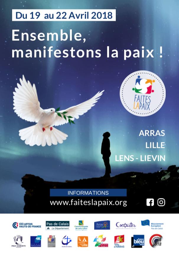 Faites la paix du 19 au 22 avril