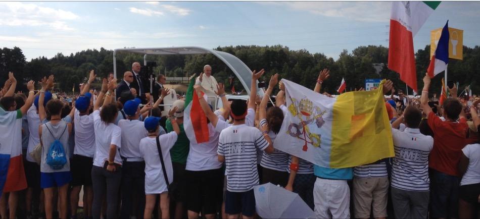 Pape aux JMJ de Cracovie