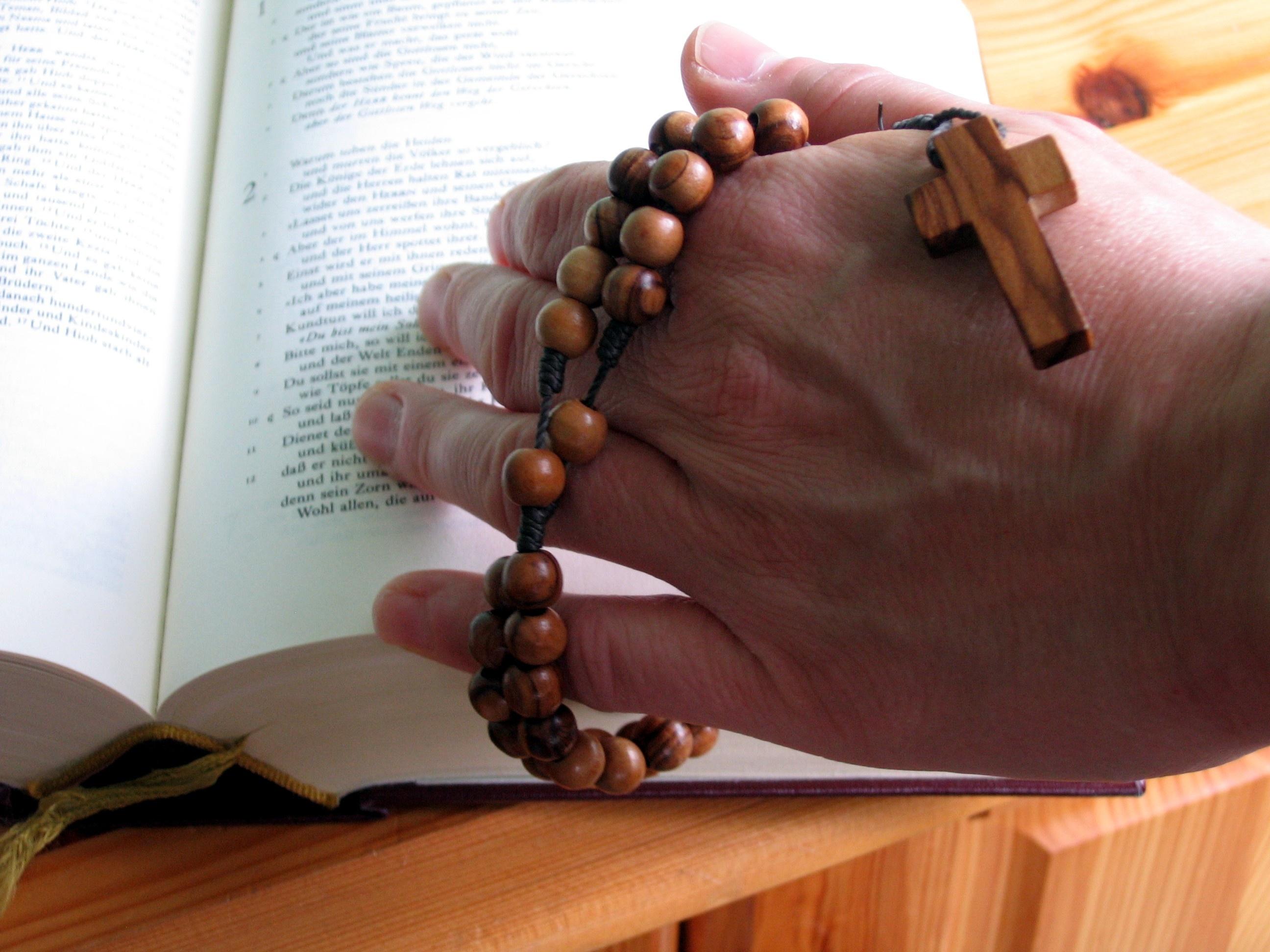 La prière du chapelet
